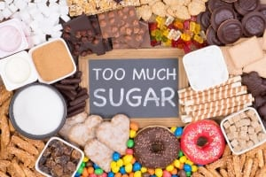 too much sugar image